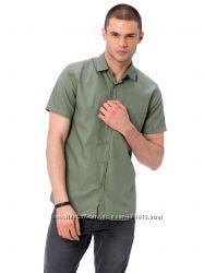 мужская рубашка LC Waikiki  ЛС Вайкики цвета хаки