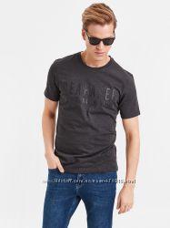 мужская футболка LC Waikiki с надписью Seafarer антрацитового цвета