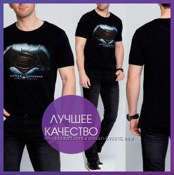 Черная мужская футболка LCWaikiki Superman