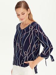 Синяя женская блузка Lc Waikiki  Лс Вайкики