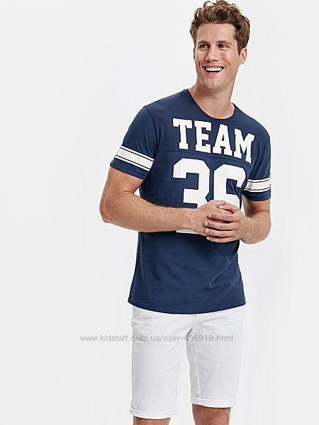синяя мужская футболка Lc Waikiki / Лс Вайкики Team 36