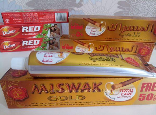 Зубная паста Мишвак Miswak Gold, Dabur, 170 г
