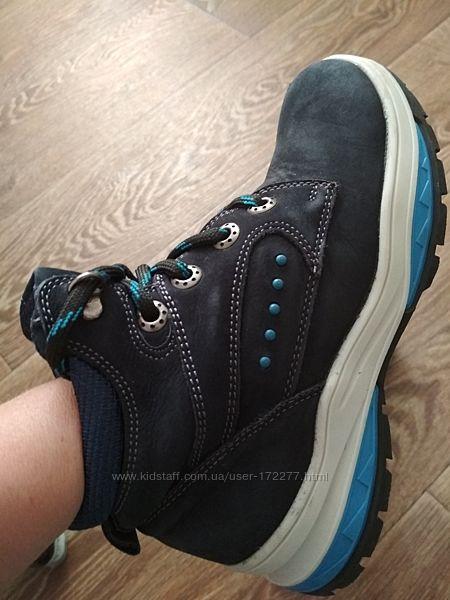 Ботинки детские Mida нубук, нат. мех 34