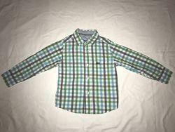 Хлопковые рубашки Next, H&M на 4-5 лет