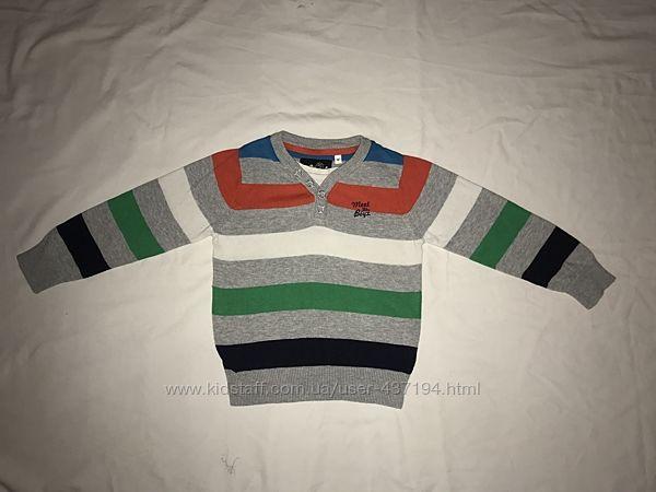 Свитер C&A  рубашка на 2-3 года