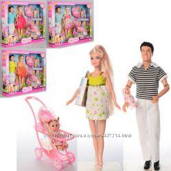 Кукла DEFA большой выбор семья беременная невеста аксессуары