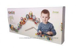 Деревянные игрушки CUBIKA шнуровка рыбки и гномики