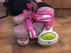 Роликовые коньки-квады Explore Kinder Quad розовый