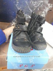 кожаные ботинки 25 р. 15, 5 см