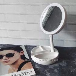 Зеркало с подсветкой круглое Незаменимая вещь