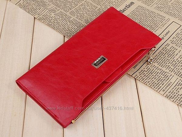 Женский кошелек клатч BOGESI. Разные цвета