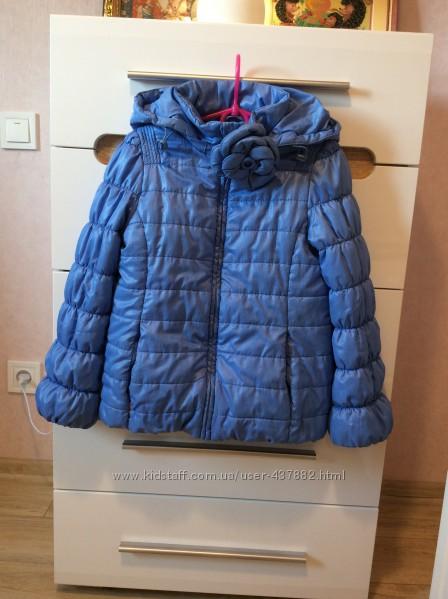 Демисезонная куртка для девочки Snowimage, р. 134