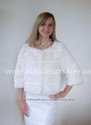 Свадебная шубка из кролика, прокат Киев