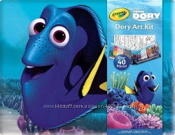 Crayola Finding Dory Art Kit Art Gift for Kids 5 & Up, 42-Piece Set