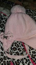 Зимняя шапочка Barbaras на девочку 3-4г
