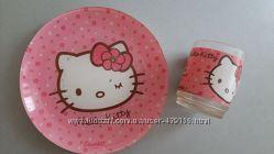 Набор посуды Luminarc для девочки Hello Kitty