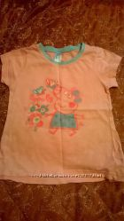 Яркие футболки и майки моей дочки.