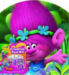 Набір для творчості Crayola Creative Tool Kit Trolls