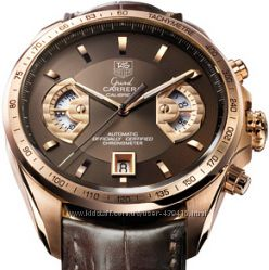 Tag Heuer Grand Carrera calibre 17 RS rose gold