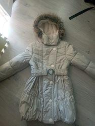Зимнее фирменное пальто Lenne