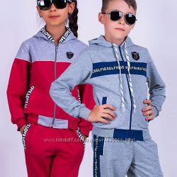 Детский спортивный костюм. Трикотаж, велюр. Украина.