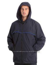 Мужская куртка, ветровка черная, темно-синяя, оливковая. Украина.