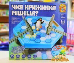 Настольная игра Чья льдинка крепче Чия крижинка міцніша Fun Game 7011