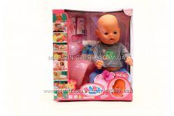 Пупс BABY BORN 8006-453 с аксессуарами и одеждой 9 функций