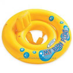 Детский надувной круг Intex