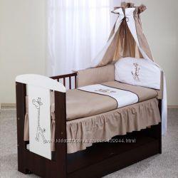 Детский постельный комплект   6 предметов