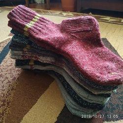 Вязаные носки для взрослых и детей в наличии и под заказ.