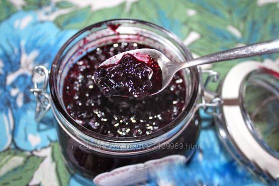 Черника. Варенье , джем из лесной ягоды.