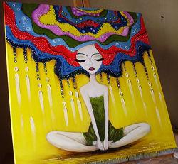 картина маслом Медитація 60х60
