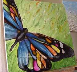 картина маслом Метелик 60х60