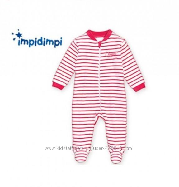 Ромпер, комбинезон, слип, пижама, для малышки от Impidimpi Германия.