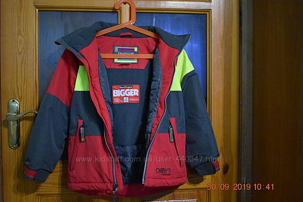 Удобная и очень теплая зимняя термокуртка SNOW DRAGONS 5 лет