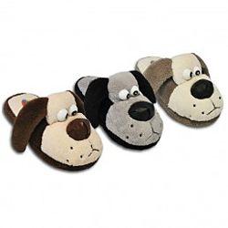 Детские тапочки собачки на мальчика, 30-35 размеры
