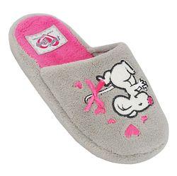 Детские тапочки мышка на девочку, размеры 30-35