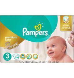 Подгузники Pampers Premium Care  Mega Pack  мега пак