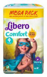 Libero подгузники Comfort 4 Maxi 7-11 kg 84шт Hero Collection