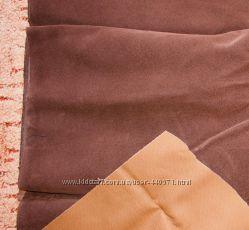 Замша на текстильной основе, цвет коричневый 200х78см