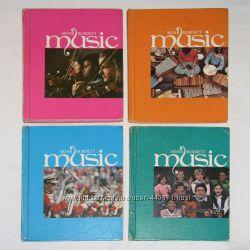Комплект книг по музыке из США Music Silver Burdett для начальной школы