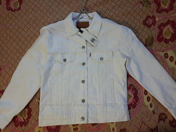 НОВЫЙ джинсовый пиджак  Levis.  Ex-Boyfriend Trucker Jacket