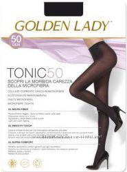 Тёплые, итальянские, брендовые колготки Golden Lady Tonic.