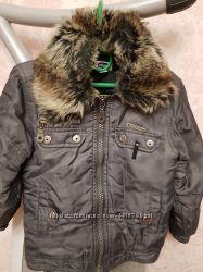 Продам отличную теплую куртку CHICCO на мальчика, рост 104