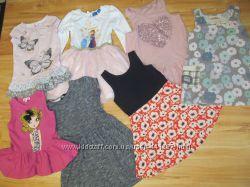 Фирменные  платья на девочку 3-6 лет