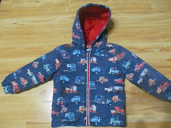 Фирменная демисезонная куртка на мальчика 2-3 лет