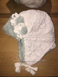 Зимняя шапочка Pupill, варежки в подарок.