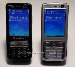 Nokia N73 оригинал два телефона состояние отличное