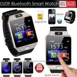 Смарт часы телефон Smart Watch DZ09 с поддержкой сим-карт новые в коробке